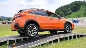subaru orange crosstrek 2018 subaru crosstrek first drive review