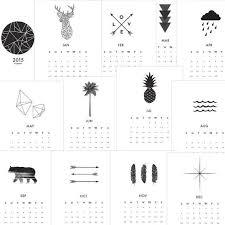 printable art calendar 2015 2015 wall calendar printable calendar 2015 by melindawooddesigns