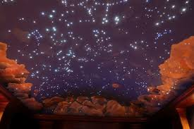 Starry Night Ceiling by Fiber Optic Star Nursery Ceiling Google Search Someday