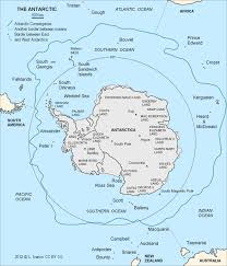 Frontal Boundary Map Antarctic Convergence Wikipedia
