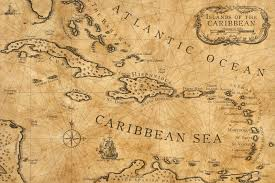 nautical map caribbean nautical chart by shawnbrown on deviantart