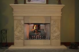 Small Bedroom Fireplace Surround Decorations Stacked Stone Fireplace Mantels At Moder Home Solid