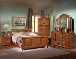 Wooden Interior Luxury Wood Bed Room Home Interiors Decobizz Com