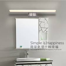 120cm bathroom mirror wall light ed modern acrylic wall lamp