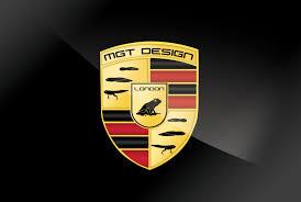 mgt design london homage to porsche logo mgt design logos