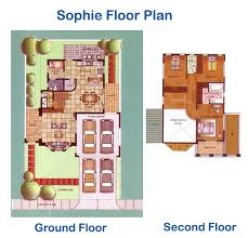Versailles Floor Plan by Versailles Sophie Model House And Lot For Sale Alabang Philippines