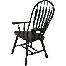 Black Windsor Chairs Dining Table With Black Windsor Chairs Wood Arms Antique Style