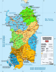 Ischia Italy Map by Large Sardinia Maps For Free Download And Print High Resolution