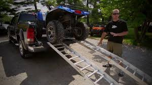 hunting truck ideas how to load your atv into your truck youtube