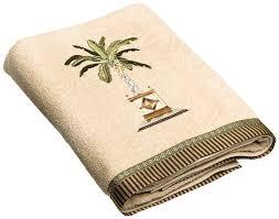 Bath Accessories Collections Amazon Com Avanti Linens Banana Palm Bath Towel Linen Home