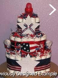 neutral diaper cakes patriotic diaper cakes