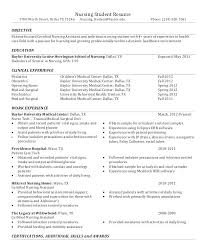 nursing student resume nursing student resumes