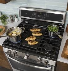 Ge Profile Gas Cooktop 30 Pgb911sejss In Stainless Steel Gray By Ge Appliances In Nantucket