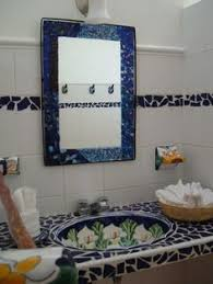 Mexican Tile Bathroom Ideas Colors Mexican Tile Bathroom Bathroom Designs Pinterest Mexicans