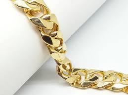 metal chain link bracelet images Wedding mens chain link bracelets round indian gold plated 316l jpg