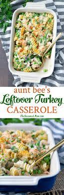bee s leftover turkey casserole recipe leftover turkey