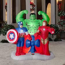 Marvel Christmas Ornaments - inflatable christmas yard decorations christmas lights decoration