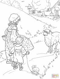sheep coloring pages newcoloring123