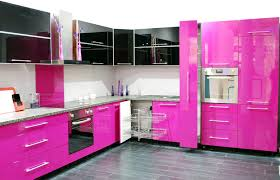 captivating modern open kitchen design with gloss kitchen