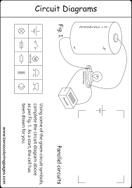circuit diagram worksheet intrepidpath parallel for students