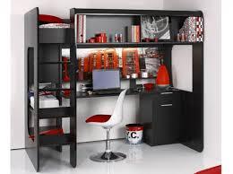 lit bureau combiné lit mezzanine bureau integre idée maison lit