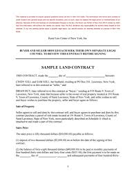 land contract template free download create edit fill and print
