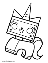 minecraft coloring pages unicorn the lego movie unikitty a unicorn coloring page regarding remodel 16
