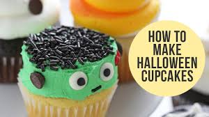 how to make halloween cake decorations how to make halloween cupcakes 5 ways youtube