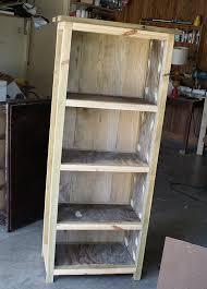 how to build a diy reclaimed wood bookshelf