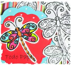dragonfly scrapbook embellishment do it yourself diy arts and