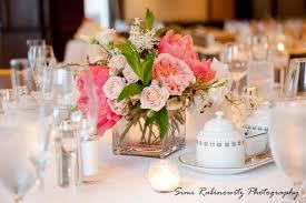 Coral Wedding Centerpiece Ideas by Garden Rose Centerpieces Petalena Creative Designs For Weddings