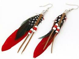 feather earrings online 18 best feather jewellery images on feather earrings