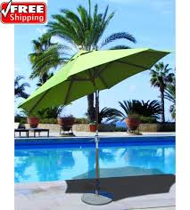 Patio Umbrellas That Tilt Best Selection Tilt Patio Umbrellas Galtech 9 Ft Teak