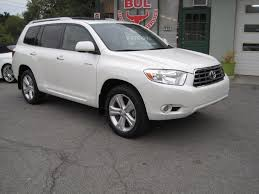toyota dealer sales 2009 toyota highlander limited 4wd 4x4 superb condition leather