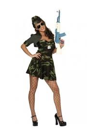 ladies army fancy dress costumes from cheapest fancy dress