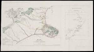 sketch map shewing the site of the canterbury settlement 1849