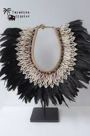 black shell necklace images Tribal black feather my style pinterest black feathers png