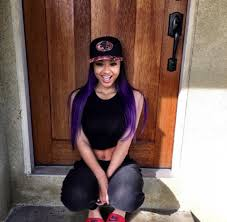 Light Skin Pretty Girls Shirt India Love California Cali Purple Hair Snapback