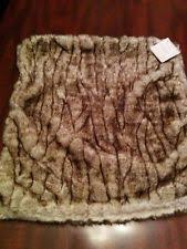 Pottery Barn Faux Fur Pillow Pottery Barn Faux Fur Home Décor Pillows Ebay