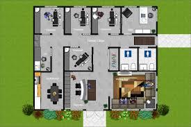 Floor Plan Dental Clinic by Office Space U2013 Rendered Spaces