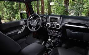 lowered 4 door jeep wrangler jeep wrangler rubicon offers a beautifully crafted interior that