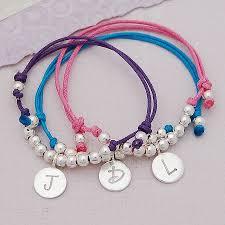 girls bracelet images Personalised silver girls friendship bracelet by indivijewels jpg