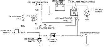 motorcycle starter motor wiring diagram relay inside gooddy org