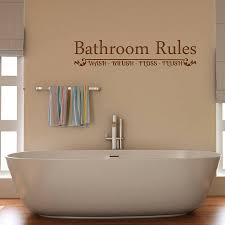 Bathroom Art Ideas For Walls Bathroom Wall Quote Ideas Healthydetroiter Com