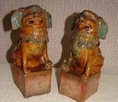 foo dogs for sale kangxi pair export seated lion foo dogs for sale