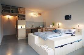 Platform Bed With Storage Underneath The Wonderful Bedroom Decorating Ideas With Elevated Platform Beds
