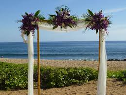 wedding arches bamboo bamboo wedding arbor bollea floral design gallery