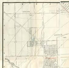 Map Of Dayton Ohio 1945 Map Of Dayton Ohio