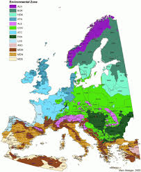 map of europe scandinavia european environmental stratification wur
