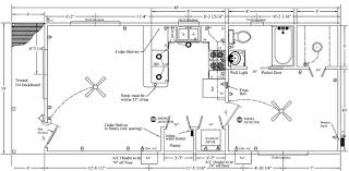Gambrel House Floor Plans 16x40 Cabin Plan With Gambrel Roof Tiny Houses Pinterest